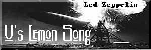U's Lemmon Song